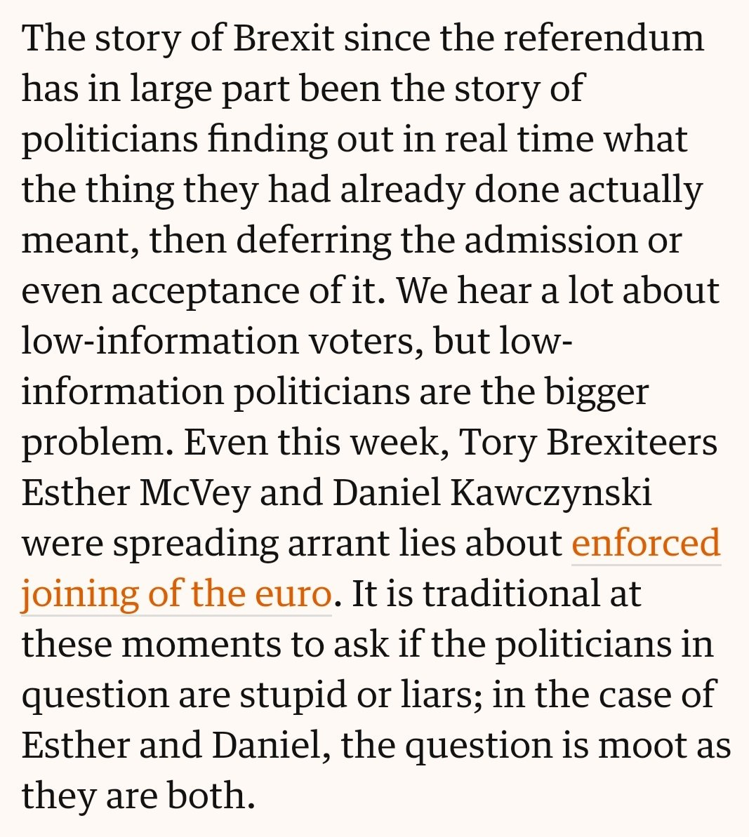 People always tweet the funny bits of @MarinaHyde's columns, but I prefer the cold, analytical fury. https://t.co/POynvkc3Gy