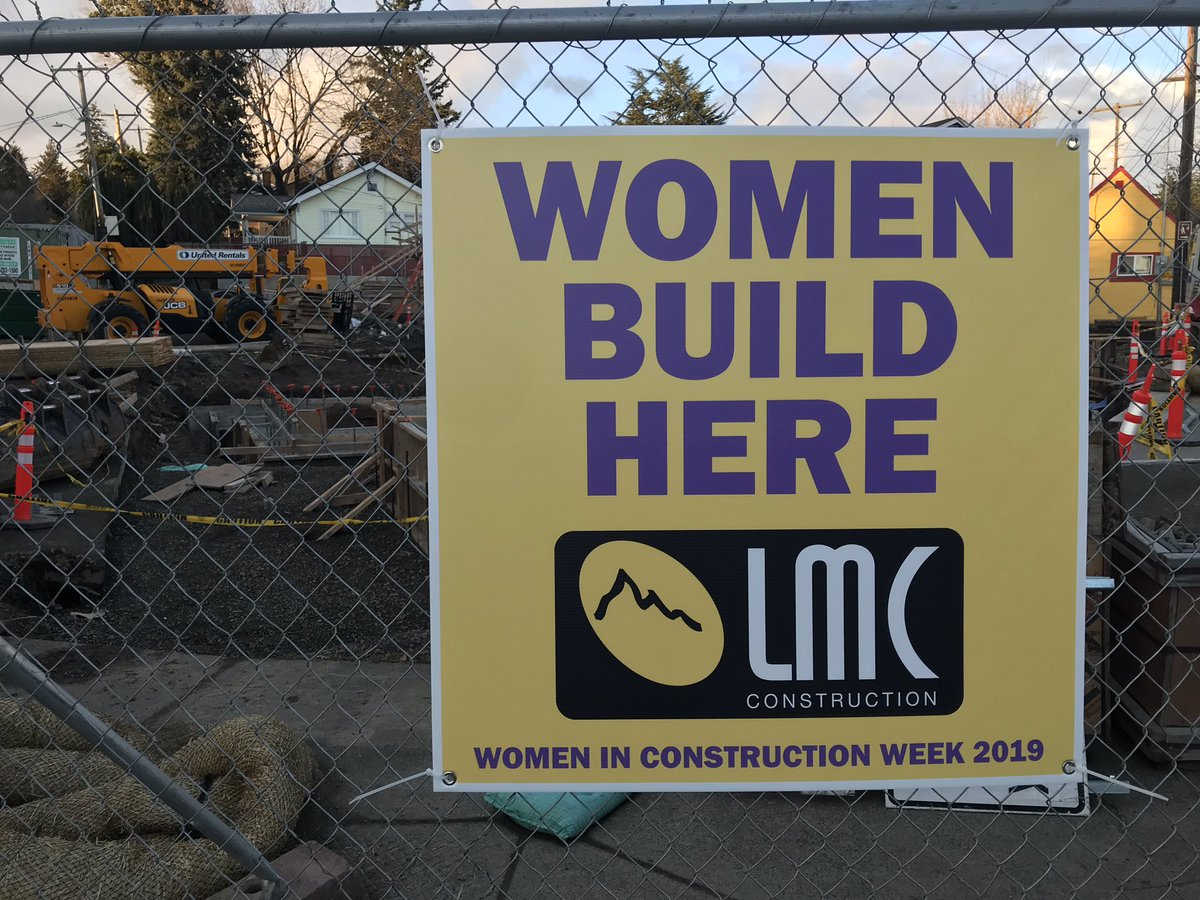 Highest respect for all of the #tradeswomen out there! Thanks @LMC_INC_GC + @womenWIREorg for the photo!
