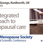 Image for the Tweet beginning: British Menopause Society Conference 2019.