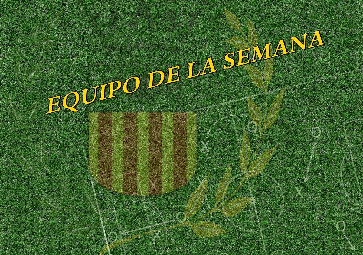 Equipo de la semana CF Vilafamés.  Descubre quienes son los jugadores destacados de la jornada del 9 y 10 de marzo.  +info: https://bit.ly/2TwGYGd  #amuntvilafamés #cfvilafamés #equipodelasemanacfv