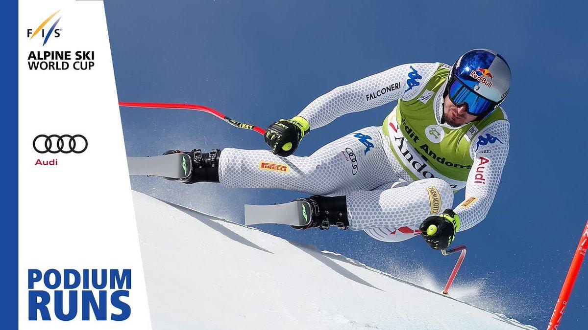Dominik Paris | Men's Downhill | Soldeu | Finals | 1st place | FIS Alpine http://dlvr.it/R0kwsb
