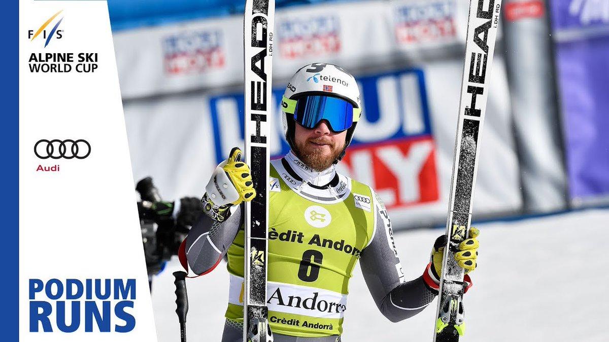 Kjetil Jansrud | Men's Downhill | Soldeu | Finals | 2nd place | FIS Alpine http://dlvr.it/R0kwsT