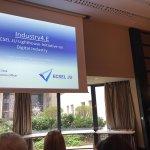 Image for the Tweet beginning: Presentation from #ECSELJU Programme Officer