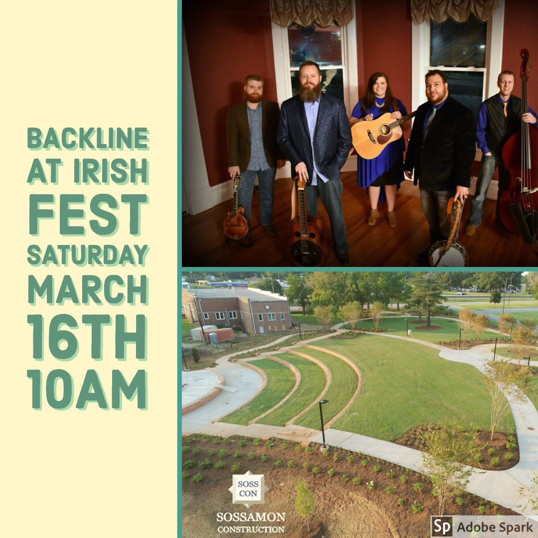 Y'all come on out Saturday to Gaffney, SC this Saturday! We play 10-12! #bluegrass #gaffneySC #bluegrassmusic #backlinestyle<br>http://pic.twitter.com/nqHT8r6hEn