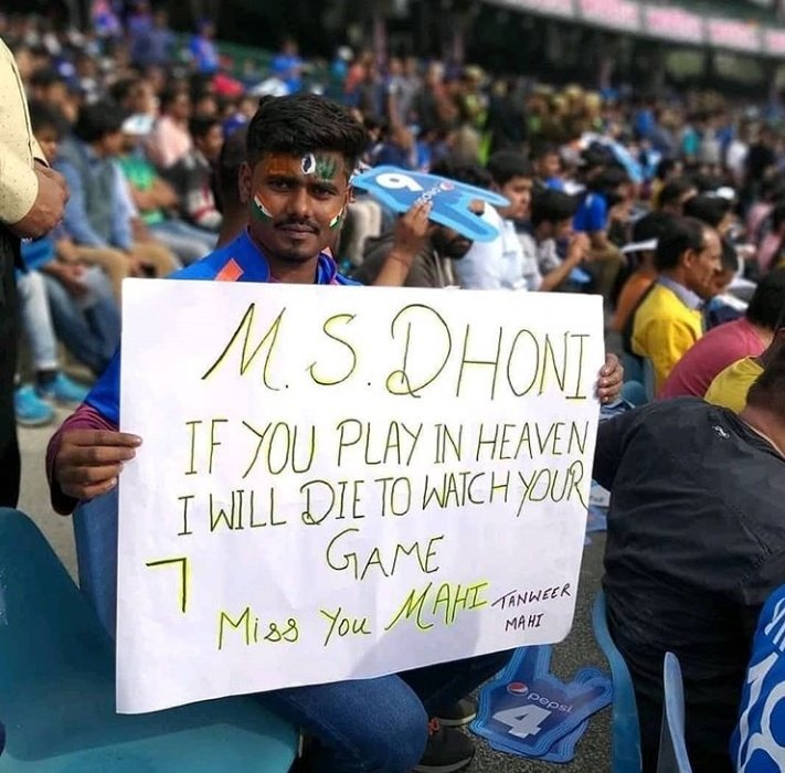 MS Dhoni Fans Official's photo on #INDvAUS