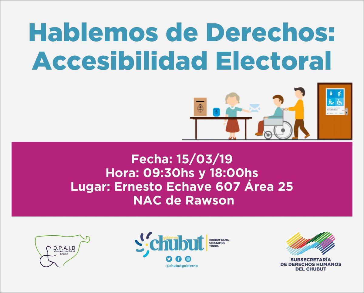 Gobierno del Chubut's photo on Personas con Discapacidad