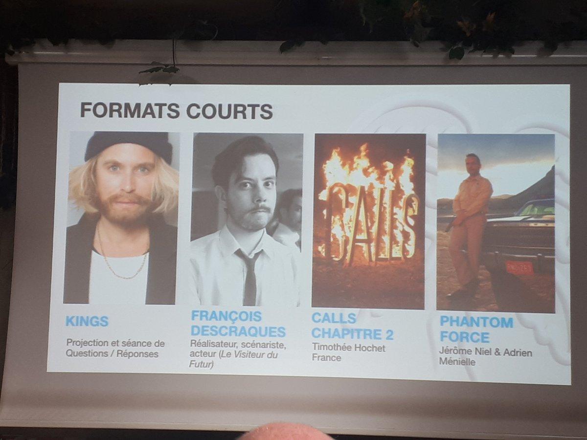[Festival] Masterclass avec François Descraques au Festival International des Séries de Cannes le 10 avril 2019 D1iddq7WwAA8f2c