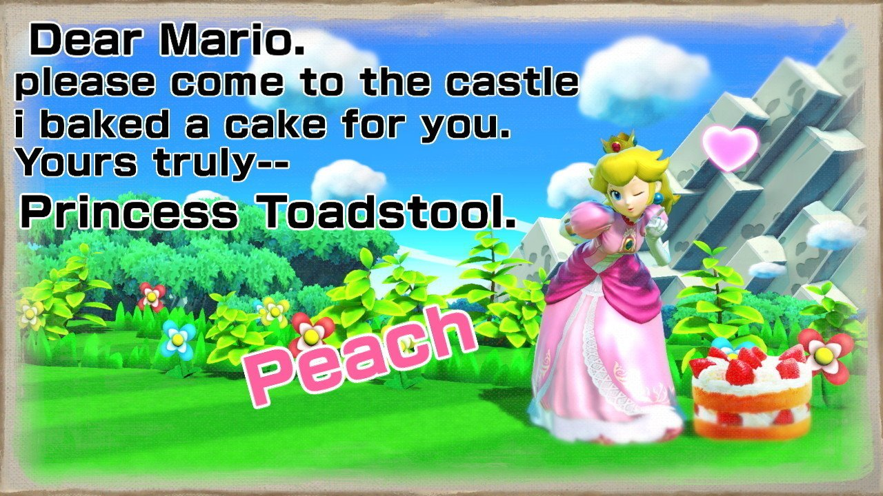 #SmashBros #NintendoSwitch #PrincessPeach writing a letter to #Mario. What Could Go Wrong! https://t.co/0MlQTupNkS