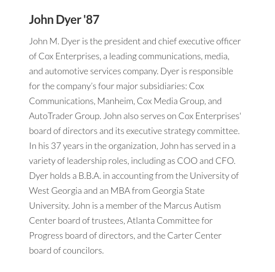 But given the @ajc 's close ties to GSU, former Cox Enterprises CEO John Dyer sits on the Georgia State University Foundation Board, I'm concerned they're coverage might be skewed to protect University officials: