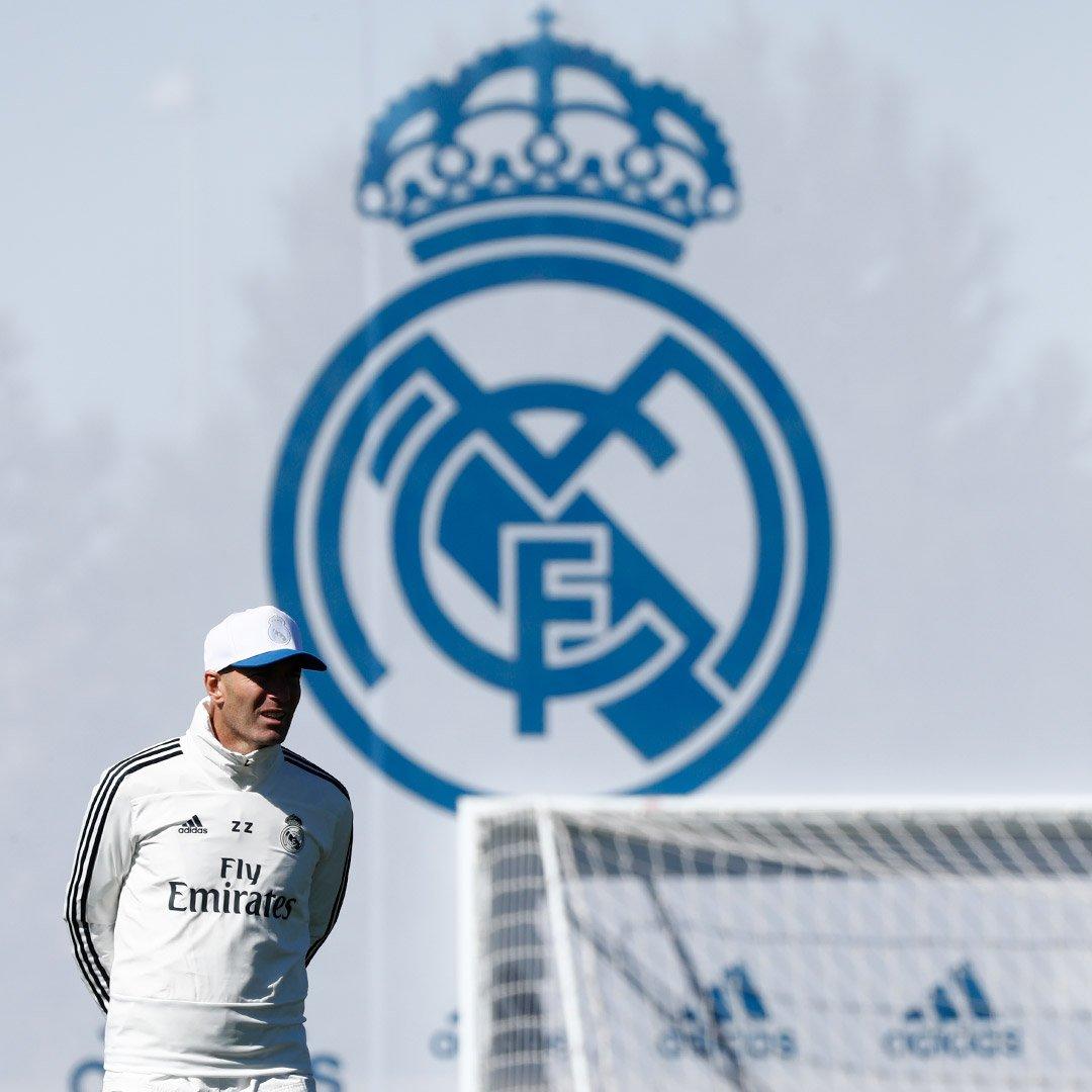 Primer entrenamiento de Zidane ✅ 🔜 @RCCelta #RMCity   #HalaMadrid