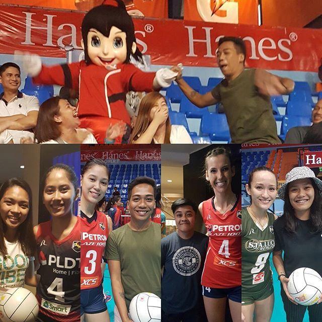 Philippine SuperLiga Volleyball's photo on Ayala