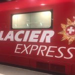 Image for the Tweet beginning: 🚂Glacier Express- the world's slowest