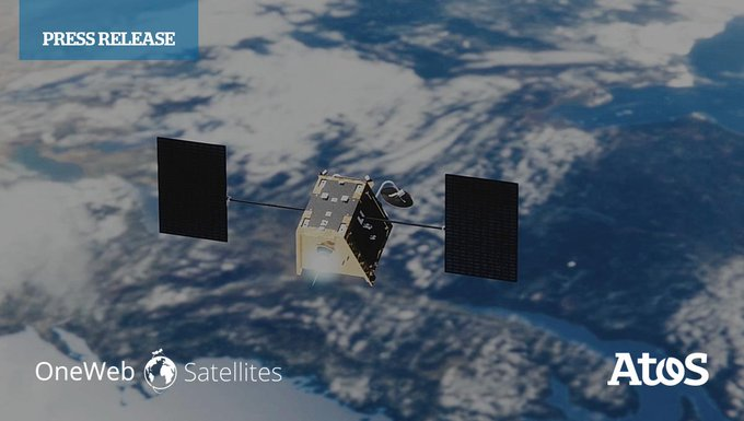 #OneWebSatellites and @Atos achieve the world's first #MassProduction of #Satellites. Together...