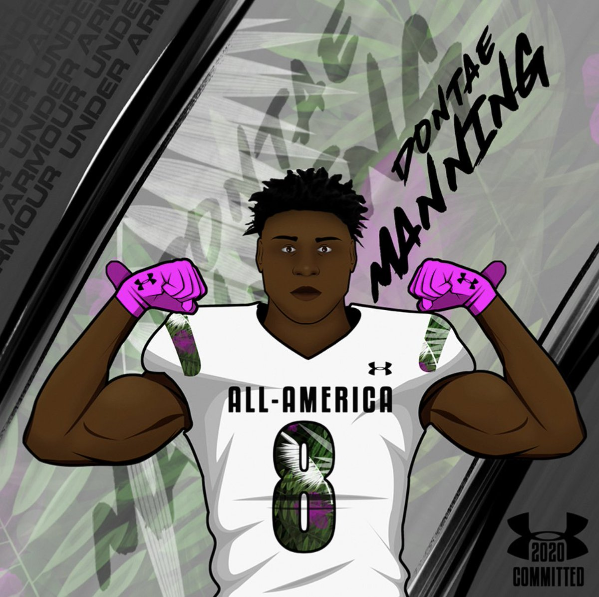It is TRULY A DREAM COME TRUE to announce I am committing to play in the 2020 Under Armour All-American Game! #WEWILL @DemetricDWarren @AllAmericaGame
