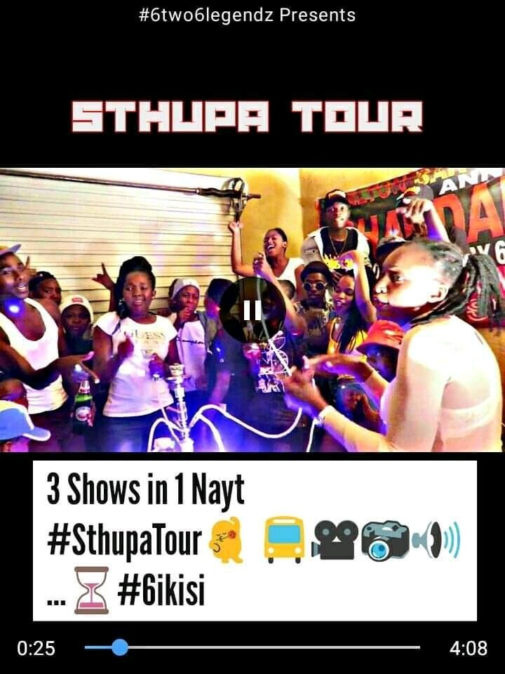 3 Shows in One Nayt #SthupaTour 💃🚍📸🎥🎤 ...⏳#6ikisi  @6two6Legendz