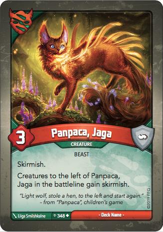 Card image for Panpaca, Jaga