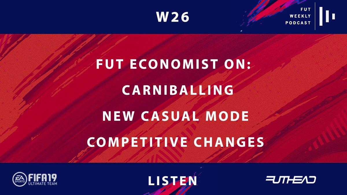 New Podcast Episode ⬇️  - Losing but still have fun - Does Carniball have everything?   - What is the key to F2Tekkz's domination? - How FIFA19 competitive changes = discount Icons  👂 https://audioboom.com/posts/7200428-carniballing-make-losing-great-again-w26 …