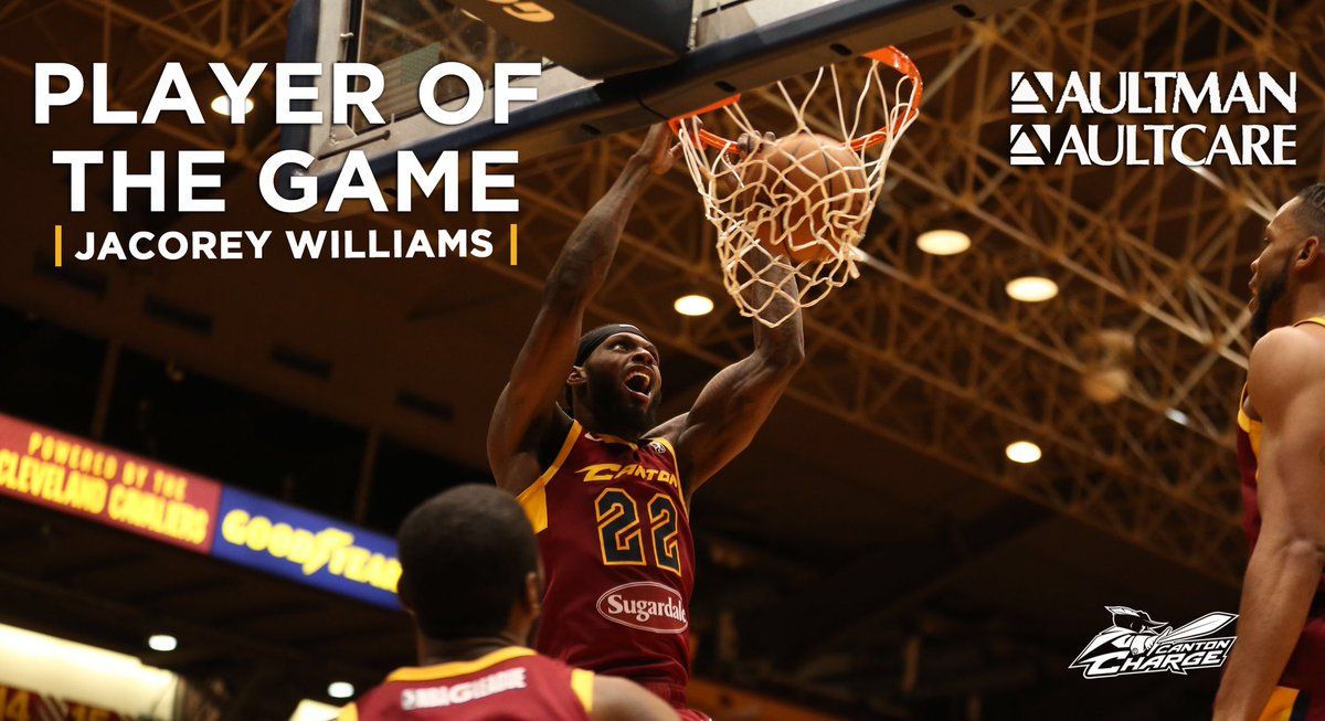 Leading scorer of last night's game, second consecutive double-double. @_JWilliams22