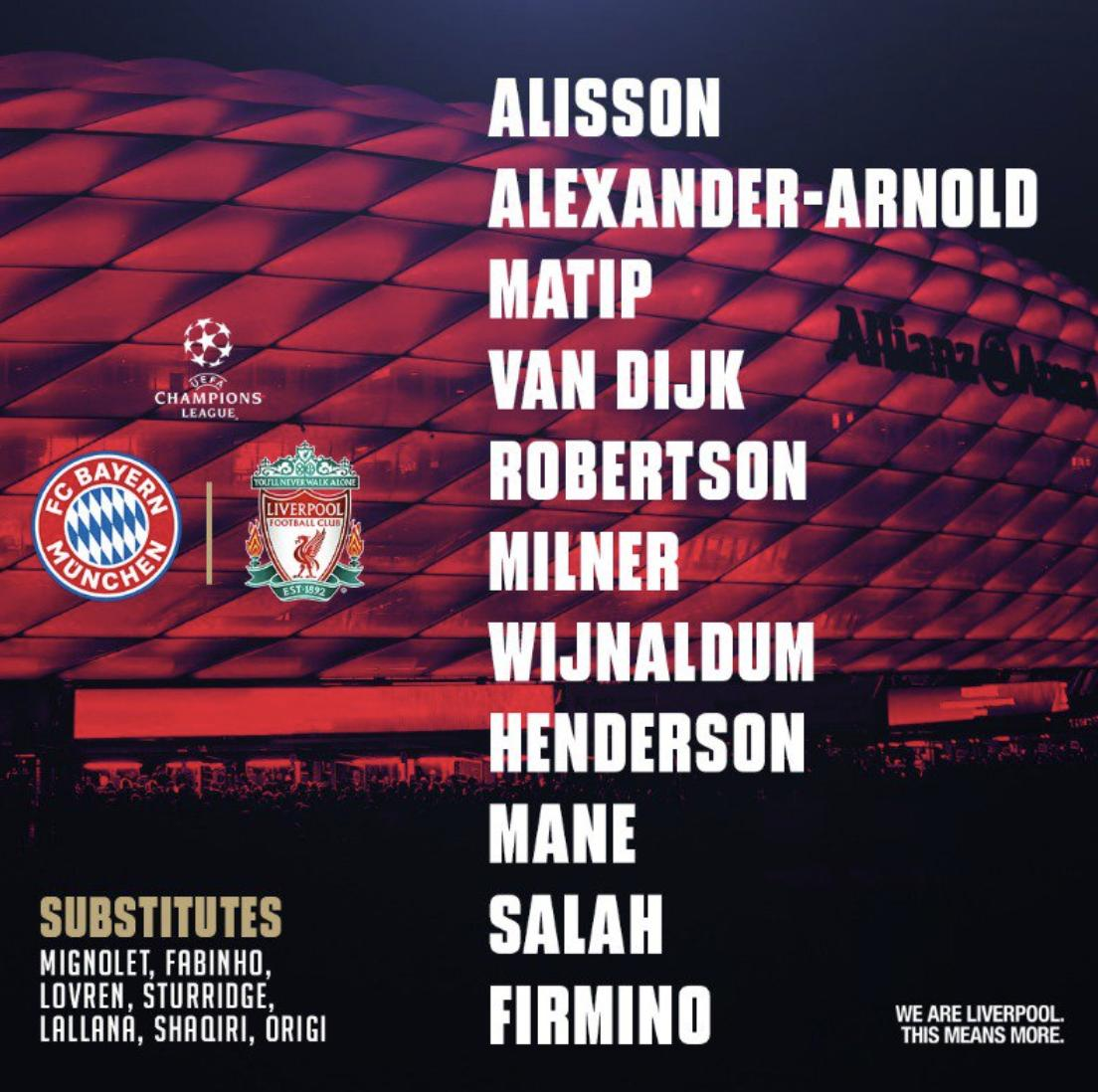 Barcelona 3 0 Liverpool In Game And Post Match Discussion: Bayern Munich 1-3 Liverpool: In Game And Post Match Discussion