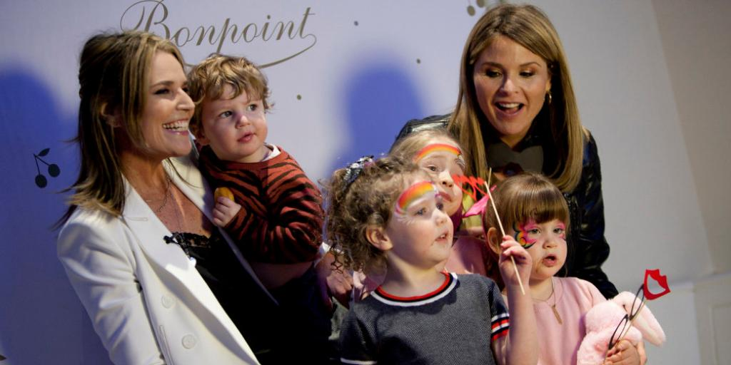 Wwd On Twitter You Re Never Too Young For Philanthropy Savannah Guthrie And Jenna Bush Hager And Their Children Attended The Memorial Sloan Kettering Annual Bunny Hop Benefiting Pediatric Cancer Https T Co Gv84qkxc1n Https T Co Eknlnofc3l