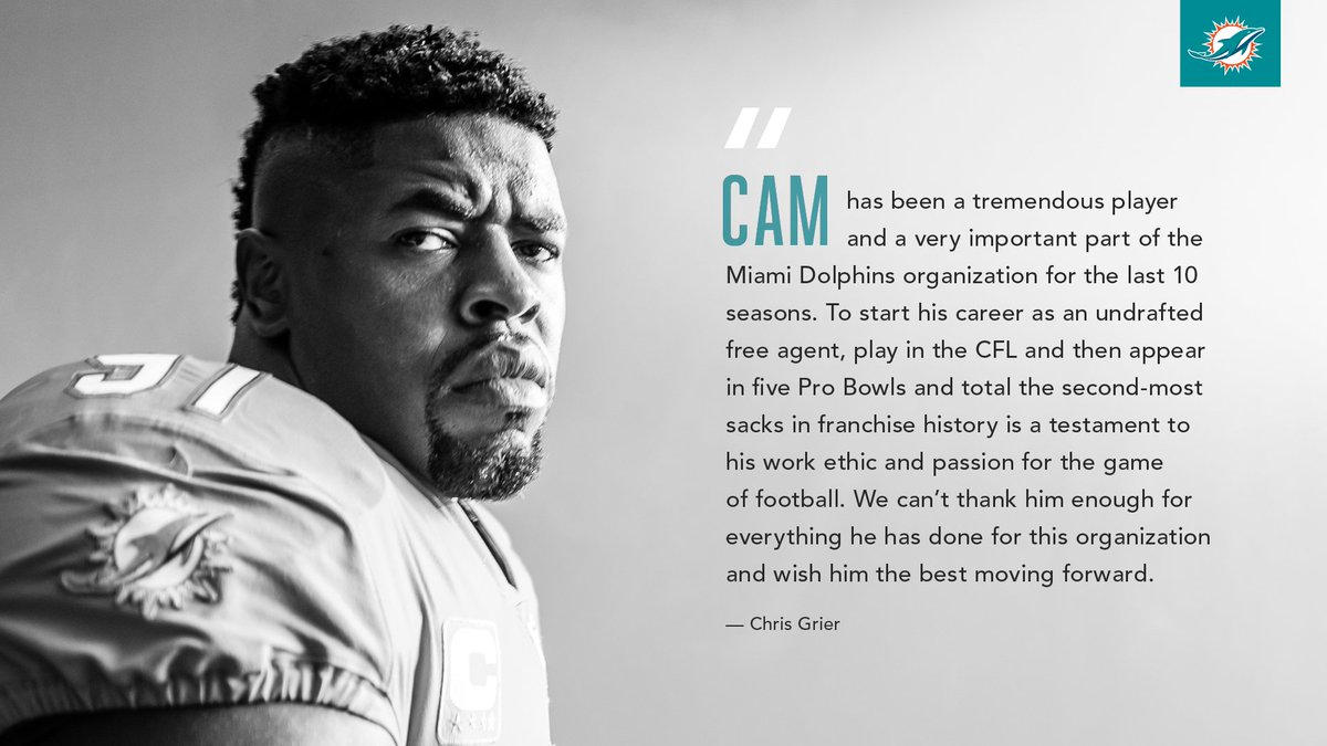 GM Chris Grier on Cam Wake.  Thank you #91.<br>http://pic.twitter.com/Eq68BABFqE