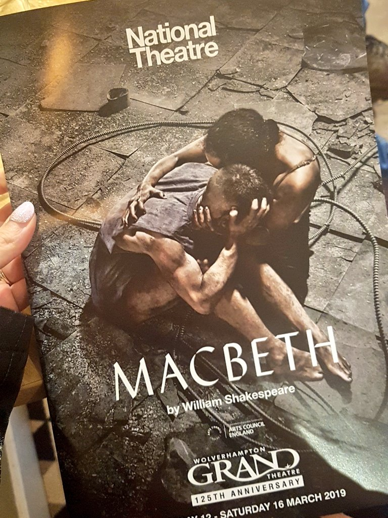 Looking forward to watching Macbeth this evening 🎭 #culturalcapital