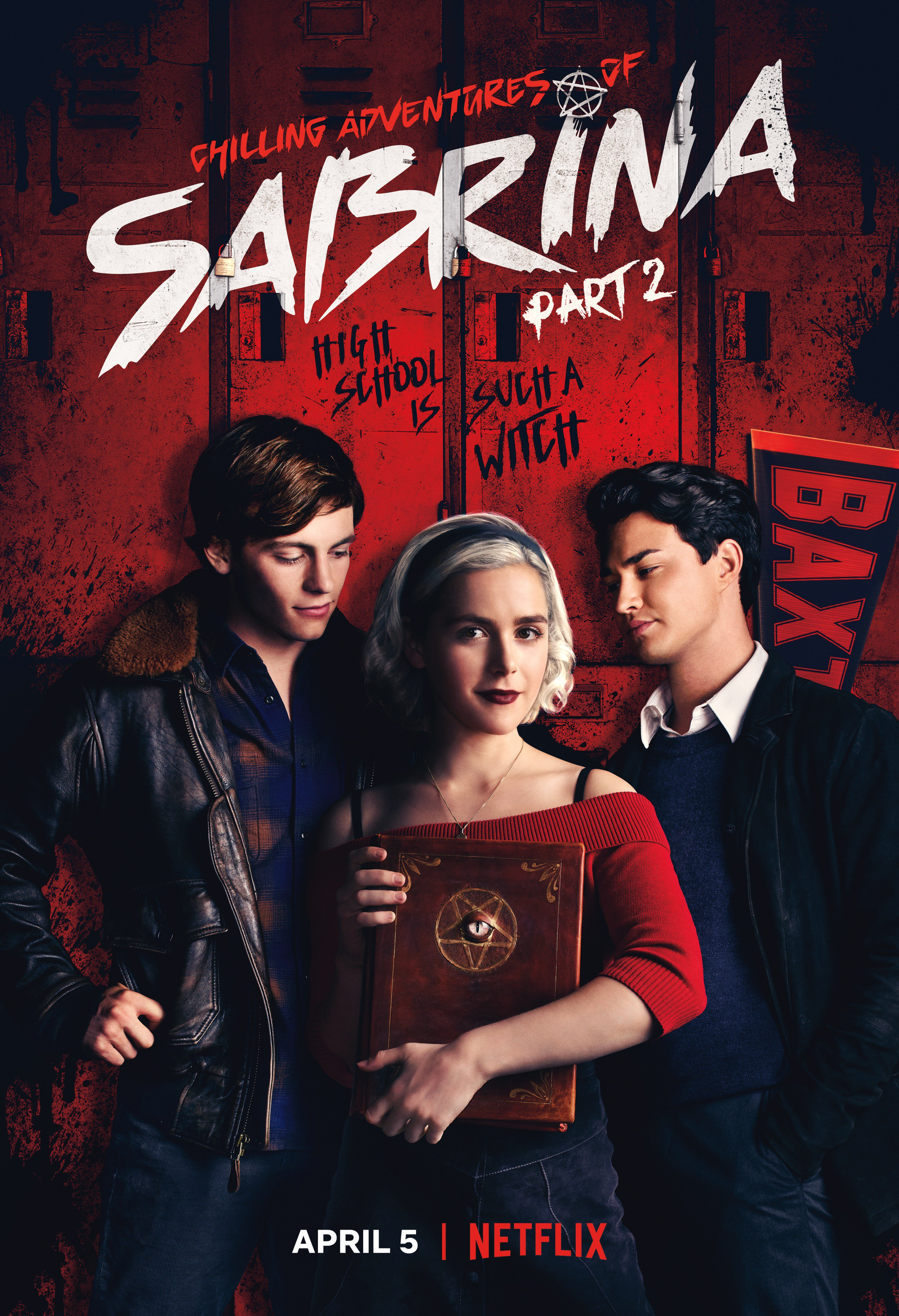 Chilling Adventures Of Sabrina Part 2 Poster Sees The