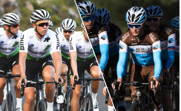 Nos gustaría desear buena suerte a nuestros 2 equipos patrocinados @TeamDiData y el @AG2RLMCyclisme en la cuarta etapa de la París-Niza.