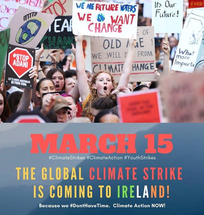 If we want to leave a habitable planet for our children and grand children and all future generations then we need action. So I would urge everyone to get out there on Friday, raise your voice and play your part in quite literally, saving the planet.  http://liadhniriada.ie/demand-action-on-climate-change-this-friday-ni-riada/…