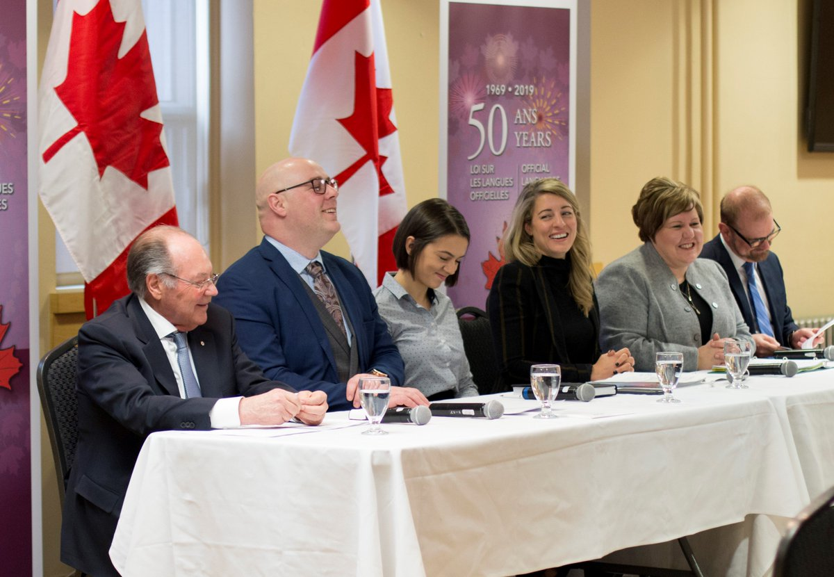 Inspiring and pertinent discussions during the forum about the promotion of culture and bilingualism #OfficialLanguagesAct  #Moncton. Don't miss the next forums and participate online: http://Canada.ca/Talking-official-languages…