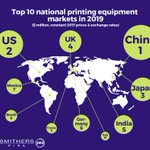 Image for the Tweet beginning: Inkjet innovation to push global
