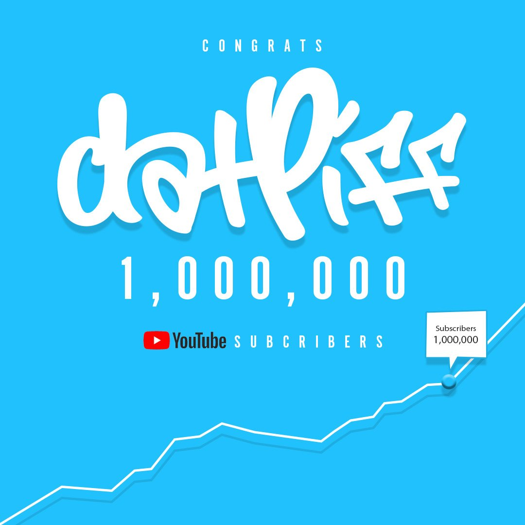 DatPiff has always been about bringing you the newest and hottest music. We started off bringing mixtapes to those who couldn't hit Canal Street, and we continue to bring music to users wherever they are.  Thank you to the entire DatPiff community for 1M on @YouTube