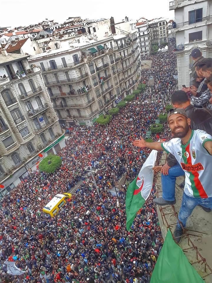 Hundreds of thousands of people in the streets of Algeria protesting and striking to demand democracy and better economic conditions.  Algerians have been peacefully protesting President Abdelaziz Bouteflika's 20-year-old rule in the biggest protests in 28 years.