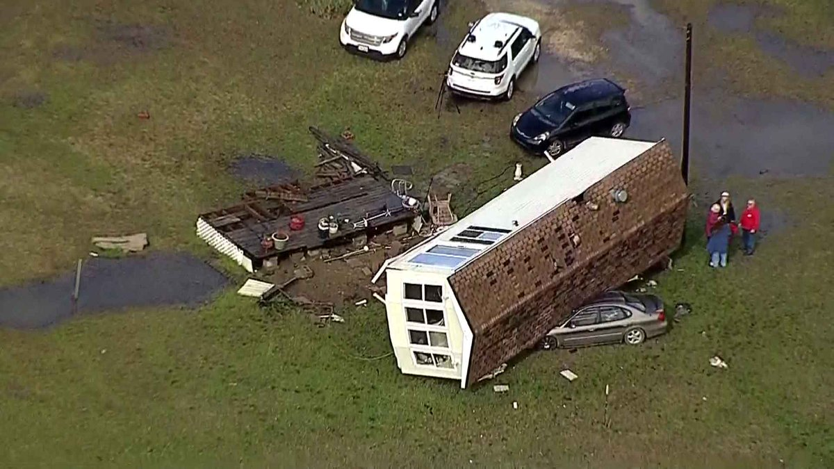 WATCH LIVE: Texas Sky Ranger is over storm damage in Johnson County http://on.nbcdfw.com/jP4Q2JU #NBCDFWWeather