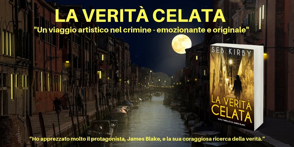 """Emozionante e originale...""  LA VERITÀ CELATA @Seb_Kirby  👉   👈  PlsRT #Italia #IARTG #ArtKNB #KU #KindleUnlimited"