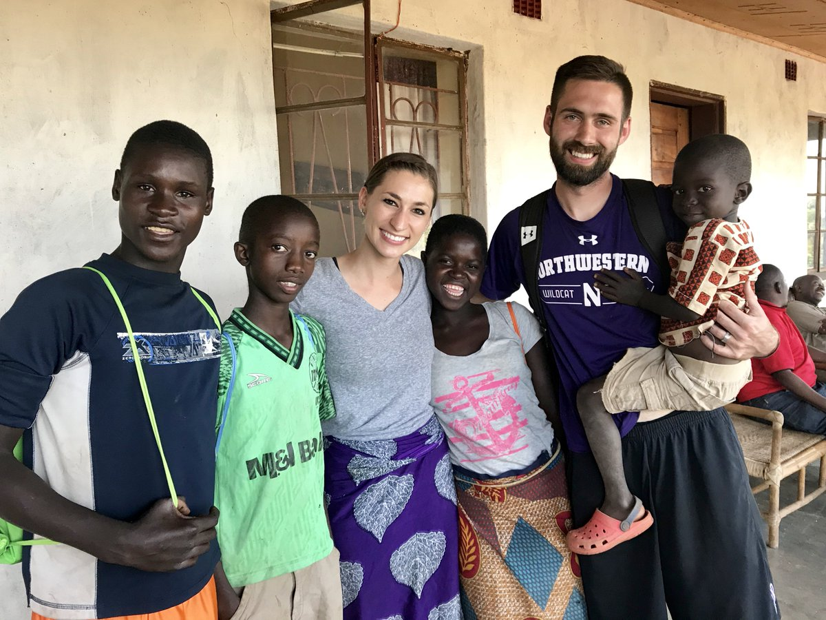 🏀 may not be big in Malawi, but for @NUMensBball's Tad Gilbert, creating a community of care for kids is what matters most. #BigTenTournament   http://btn.com/2018/06/30/for-northwesterns-tad-glibert-service-is-second-nature-btn-livebig/…