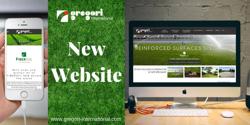 ⚽️🖥️✨Our new website is live! Take a look at our new turnkey mini-stadia range and our #Turf consulting and management services! Many pages on dream projects all over the world #Realizations #ExceptionalWorks... & a fresh new look for https://t.co/HWHeMwNjDr ⚽️🖥️✨#SportsFields