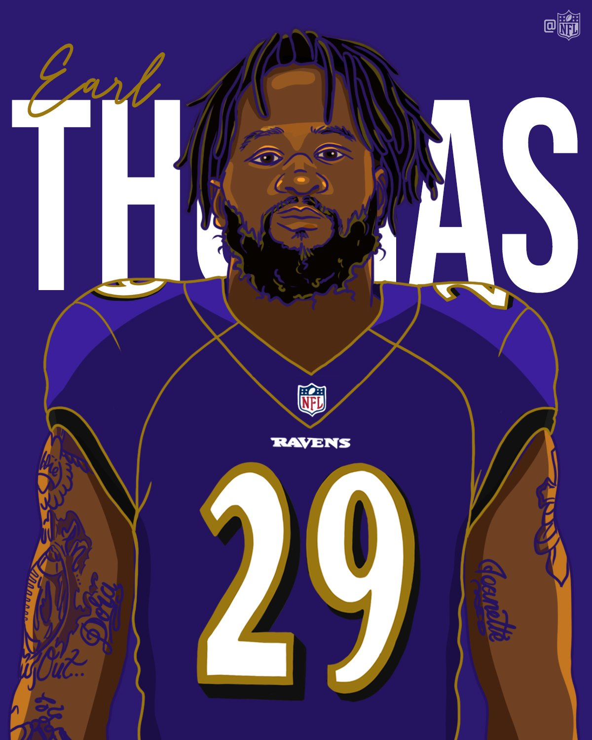 Welcome to the @Ravens, @Earl_Thomas! https://t.co/ef4nf6JGcF