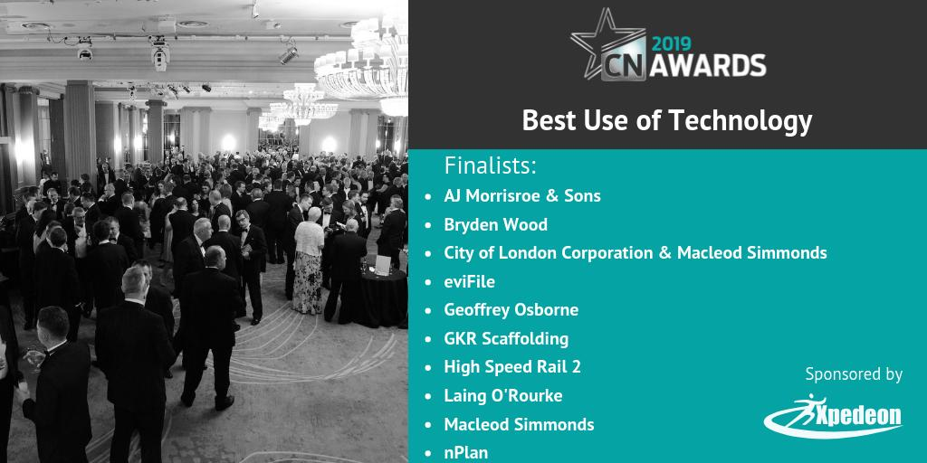 Good luck to those shortlisted for the Best Use of Technology category (sponsored by @Xpedeon) at the 2019 #CNAwards! You can check out the full list here http://bit.ly/2019CNshortlist