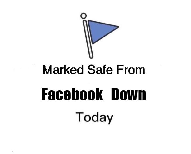Everyone ok? #FacebookDown