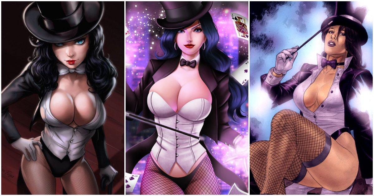 Dc comics sexy zatanna original art batman magic justice league dark lingerie