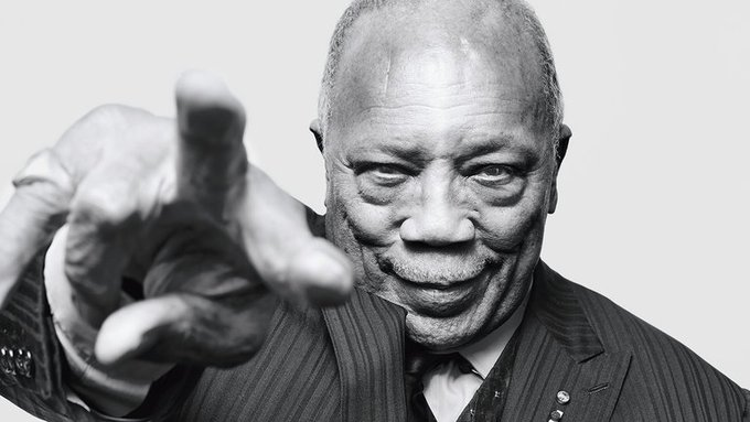 We want to wish the incomparable Quincy Jones a very happy 86th birthday!