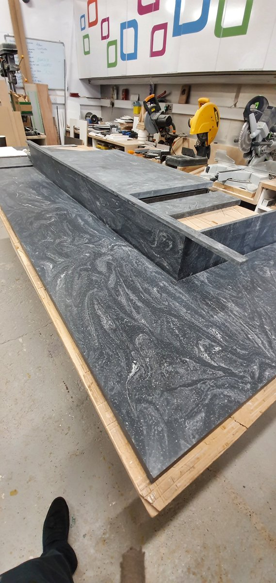 canteen design catersales interior design classes london Progress pictures of our beautiful, bespoke worktops for a retail-coffee  shop fit-