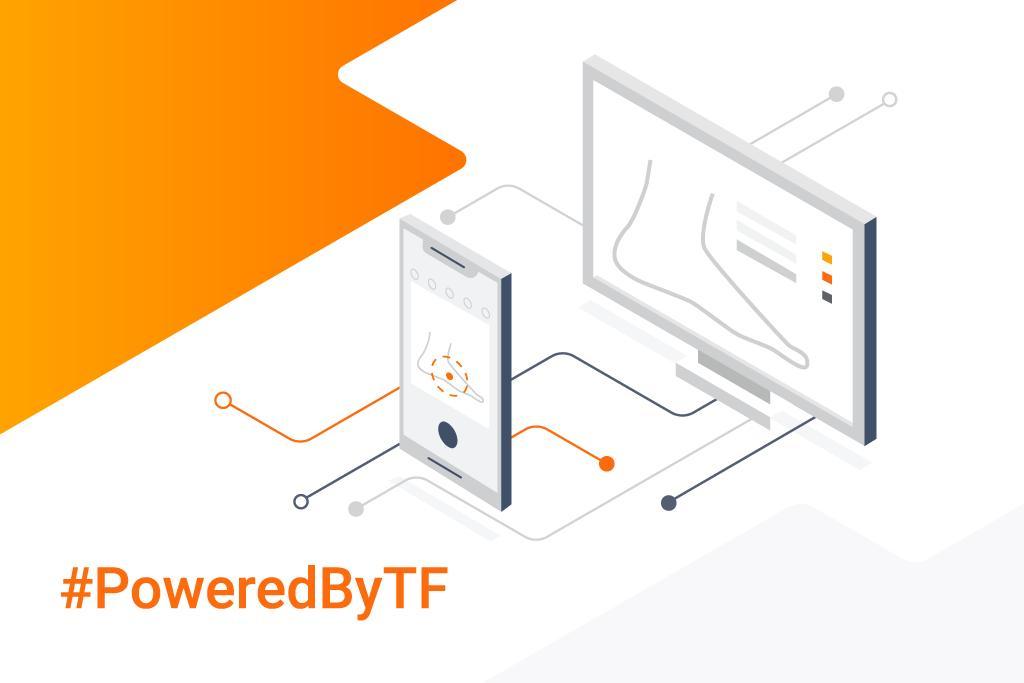 Etiqueta #poweredbytf al Twitter