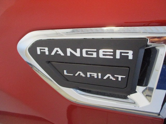 All New 2019 Ford Ranger In The Color Hot Pepper Red Metallic