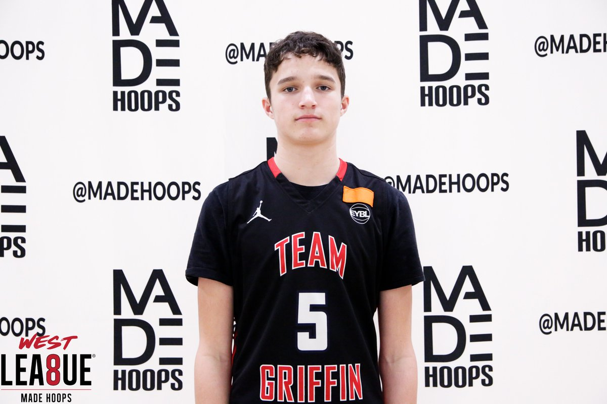 "A major sleeper 🚨 down the line for Team Griffin (OK) is 2023 6'5"" Caden Steward. All winter, I've seen incremental growth in the forward, and there's no doubt that he's going to grow into a big, bouncy prospect in the Great Plains. #WestLea8ue"
