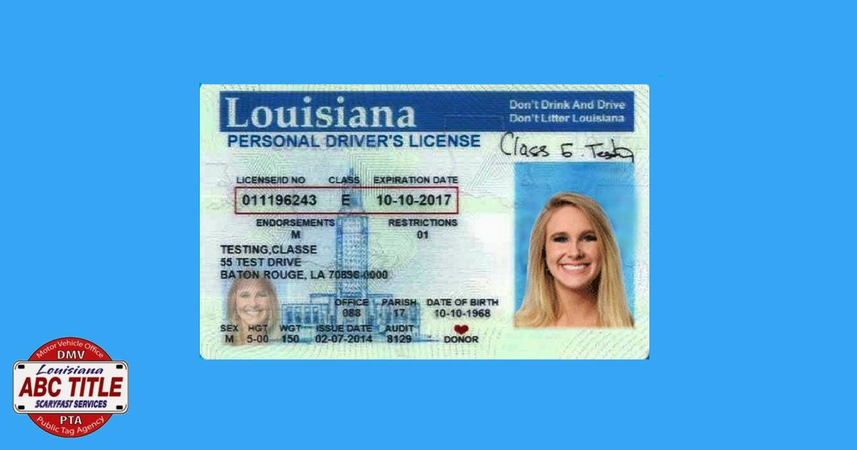 la dmv lost drivers license