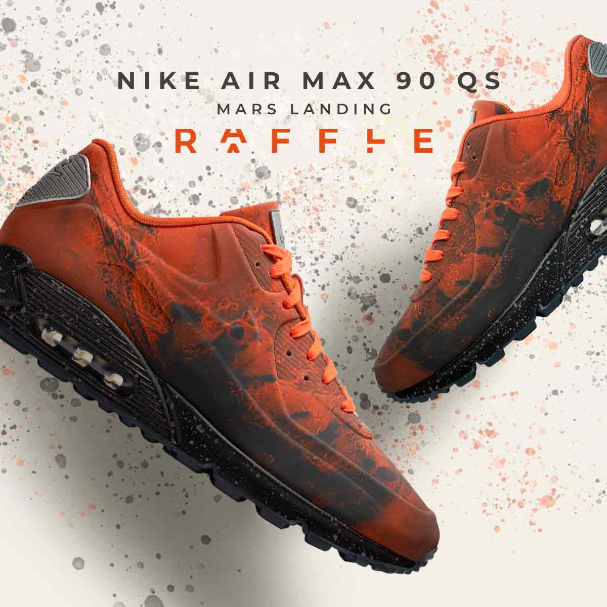 Take Your Feet To Mars With Nike's Air Max 90 'Mars Landing