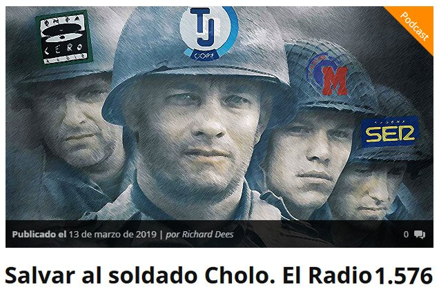El Radio's photo on Cholo