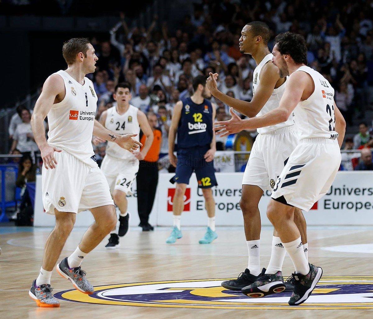 Cerca de acabar la fase regular en @EuroLeague. Vamos a seguir fuertes para acabar arriba 💪🏻👊🏻